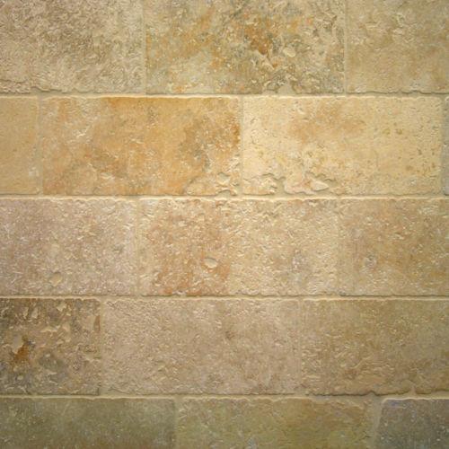 Travertin terrassen gehwegmaterialien ebay for Travertin marmor tisch