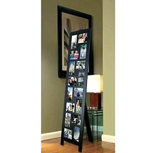 Standing/floor length photo/picture collage frame
