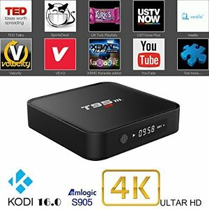 ANDROID TV 6.0 ULTRA 4K T95M KODI 17 IPTV LIVE TV FULLY LOADED