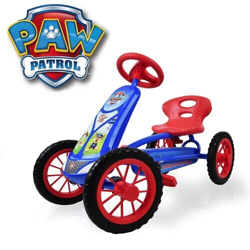 Paw Patrol Lil'Turbo Pedal Go Kart Ride On Toy Outdoor Tod