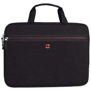 "SwissGear SWA0927H 15.6"" Laptop Sleeve - Black (New Other)"