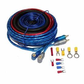 Car Amplifier Wiring Kit Amp Fuse Holder RCA Cable Subwoofer 10GA £13 8GA £20 4GA £30 0GA £40