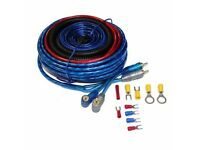 Car Amplifier Wiring Kit Amp Fuse Holder RCA Cable Subwoofer 10GA £12 8GA £15 4GA £20 0GA £40