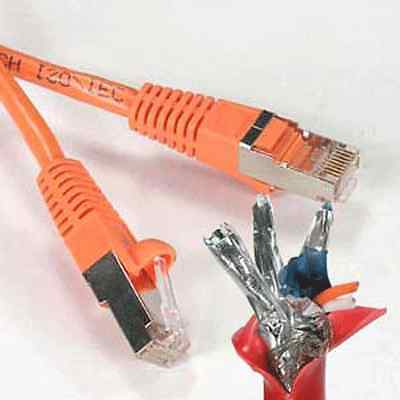 CAT6 Shielded Ethernet Patch Cable 1 2FT 3FT 4FT 5FT 6FT 7FT 10FT 15FT 20FT 25FT on Rummage