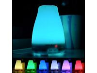 Essential Oil Diffuser for Aromatherapy - 120 ml Essential Oil Cool Mist Humidifier with LED Lights