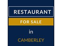 Restaurant for Sale in Camberley | Call: 07403420911