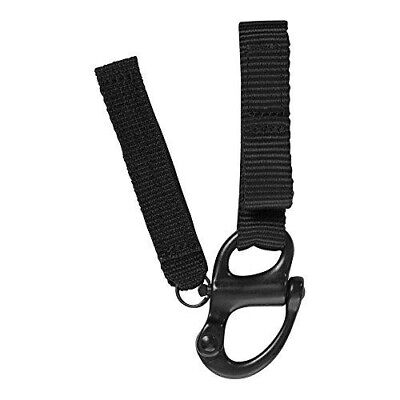 Fusion Tactical Military Police Patrol Snap Button Belt Keeper Keychain Shackle