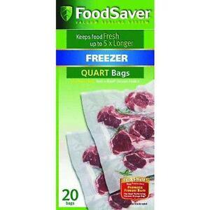 Food Saver Quart Bags