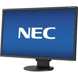 "NEC 22"" LED-backlit Monitor - New in Box - Built-in Speakers"