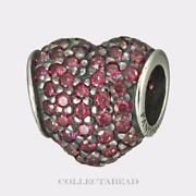 Authentic Pandora Beads Red