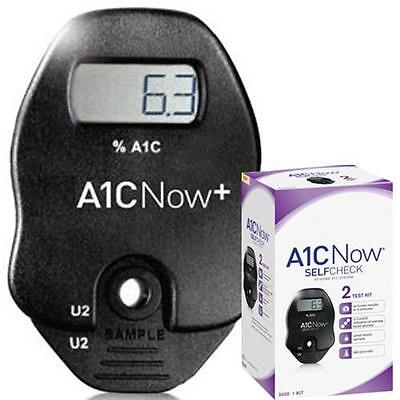 A1CNow® glycated hemoglobin - HbA1c - hemoglobin A1C Multi-test system 2 tests
