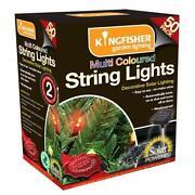 Multi Coloured Garden Lights