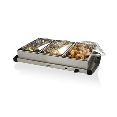 Buffet Server Warmer Food Tray Stainless Steel Chafing Dish Warming Tray Dining