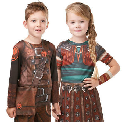 How To Train Your Dragon Kids Fancy Dress Hiccup Astrid Boys Girls HTTYD Costume (Dragon Kid Kostüm)