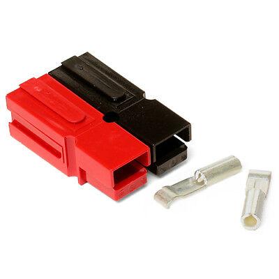 15 Amp Bonded Redblack Anderson Powerpole Complete Connectors 10 Sets