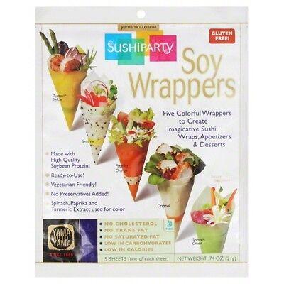 Yamamotoyama Sushi (Yamamotoyama Sushi Party Soy Wrappers .74)