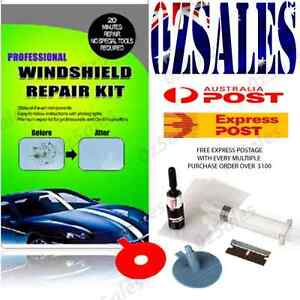 Car Windscreen Windshield Crack Chip Bullseye Glass Repair Screen DIY Kit