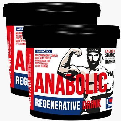 2 x 2400g ANABOLIC™ - Mass Gainer, Protein Shake, Creatin, Muskelaufbau, Anabol ()