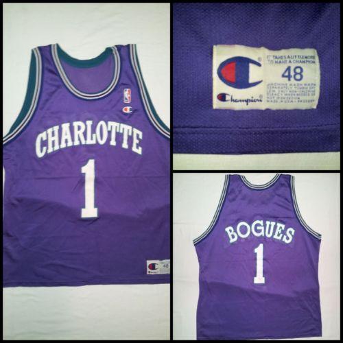 Muggsy Bogues Jersey: Fan Apparel & Souvenirs