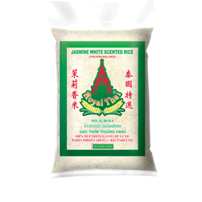 Royal Thai Jasmine Perfumed Rice- Langkorn Duftreis (4,5kg)