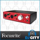 Focusrite Thunderbolt Audio/MIDI-Interfaces