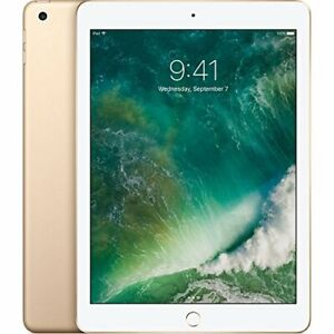 10/10 NEW 2018 Apple iPad with WiFi 32GB, Gold with PENCIL