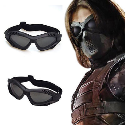 Captain America Goggles Winter Soldier Bucky Barnes Cosplay Mask Protection