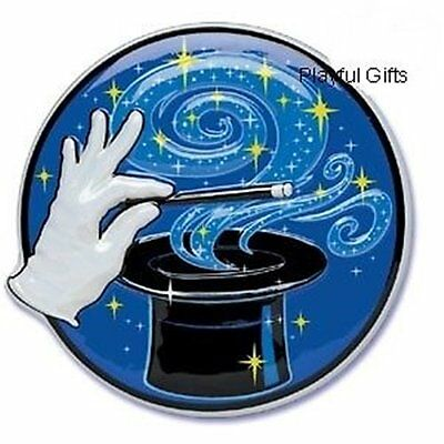 1 Magic Cake Topper  Decoration Top Wizard Tophat - Cake Top Decorations