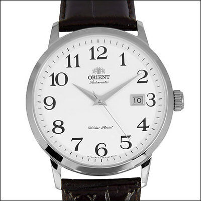 Orient Symphony Automatic Dress Watch with White Dial, 41mm SS Case #ER27008W
