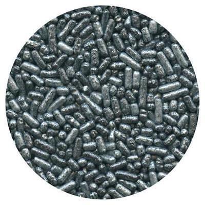 Pearlized Silver Jimmies/Sprinkles - 3.2 oz - CK - Silver Sprinkles
