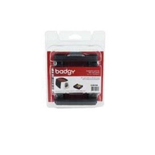 Evolis CBGP0001C Badgy 100/200 Consumable Pack Supl Color Ribbon 100 30mil Thick
