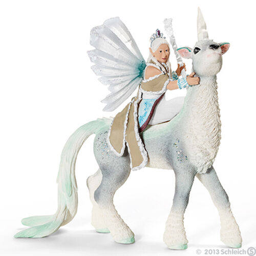 NEW SCHLEICH BAYALA 70471 Ice Queen Elf Sunaya & her Unicorn - RETIRED