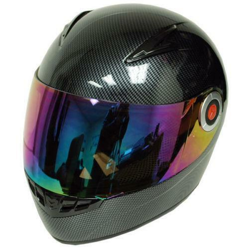 Carbon Fiber Motorcycle Helmets >> WOW Helmet | eBay