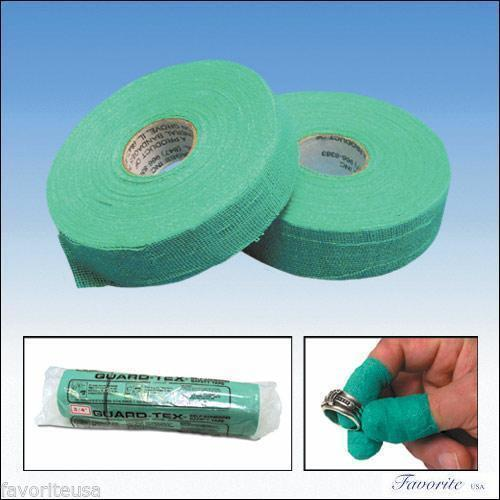 """FINGER PROTECTION SELF-ADHESIVE GREEN SAFETY TAPE ROLLS 3/4"""" WIDE"""