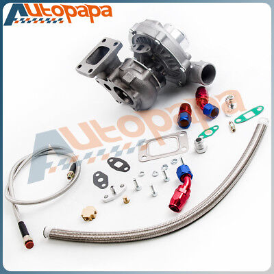 T3T4 T04E STAGE3 TURBO  OIL FEED  RETURN LINE 450
