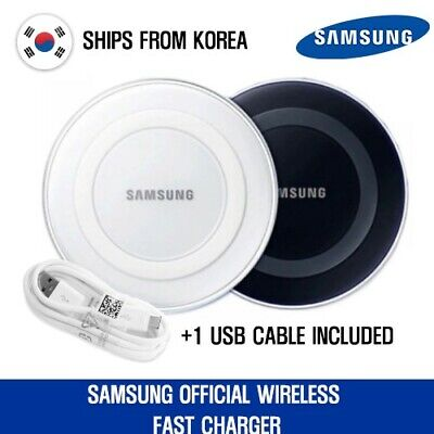 ⚡GALAXY S21, S21+ Fast Wireless Charger - Samsung Official - USB included -White