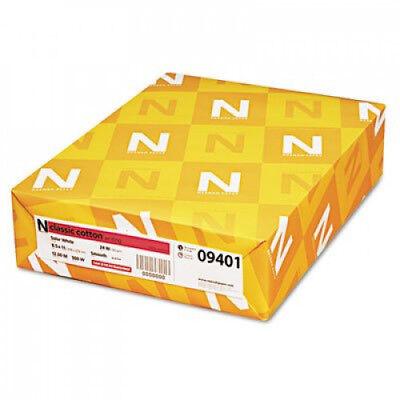Neenah Paper 09401 Classic (25%) Cotton Wove Writing Paper, 8-1/2 x 11, (Classic Cotton Writing Paper)
