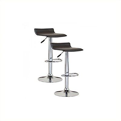 Leick Furniture Favorite Finds Adjustable Height Swivel Bar Stool Set of 2