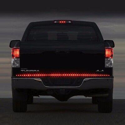 Truck 60 full led tailgate lights barebay full size chevy truck led brakerunningturn signal led tailgate tail light bar mozeypictures Gallery