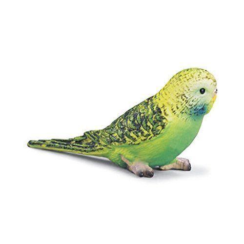 Schleich 14408 Green Parakeet Toy Bird Animal Model Budgie {{RETIRED}} - NIP