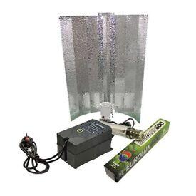 Eurolux Reflector Grow Lamps 600W Ballast Growing Kit