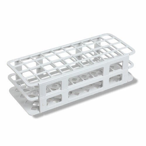 40 Place, 20/21mm Snap Rack, PP Plastic, White (Case 50)