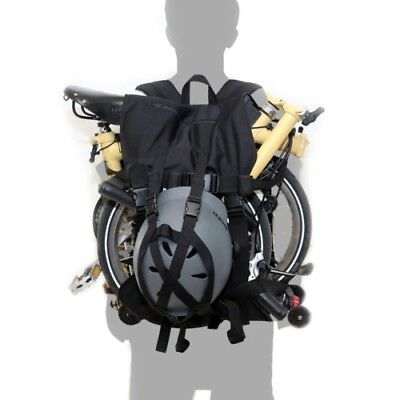 New Bluesprite Brompton Lifting Bags Bicycle Carrying Backpack