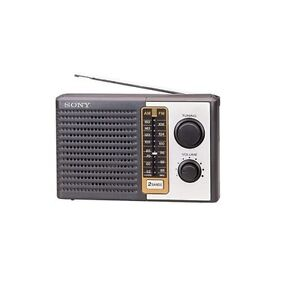 Sony ICF-F10 (IVFF10) 2 Band AM/FM Portable  Transistor Radio GENUINE