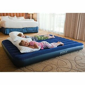 Intex Classic Downy Airbed, Queen (New in the Box Never Opened)