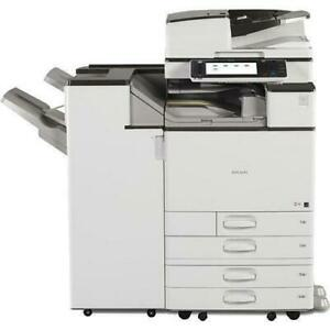BUY RICOH MP C3503 GREAT MODEL FOR JUST $2995. HIGH PERFORMANCE RICOH LASER MULTIFUNCTIONAL PRINTER SCANNER COPIER.