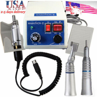 Dental Lab Marathon Electric Micromotor 35k Rpm N3 Handpiece Polishing Machine