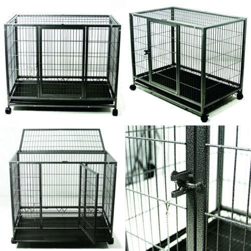 Large Dog Cage Ebay