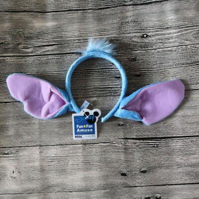 Dog Alien Costume (Disney Mickey Lilo & Stitch Alien Dog Ears Headband Costume Halloween USA)