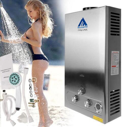 12L LPG Propane Gas Warmwasserbereiter Durchlauferhitzer Boiler Wasserspeicher
